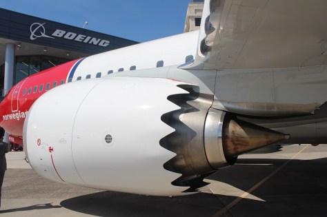Turbina CFM LEAP-1B 737 MAX8 Norwegian EDA