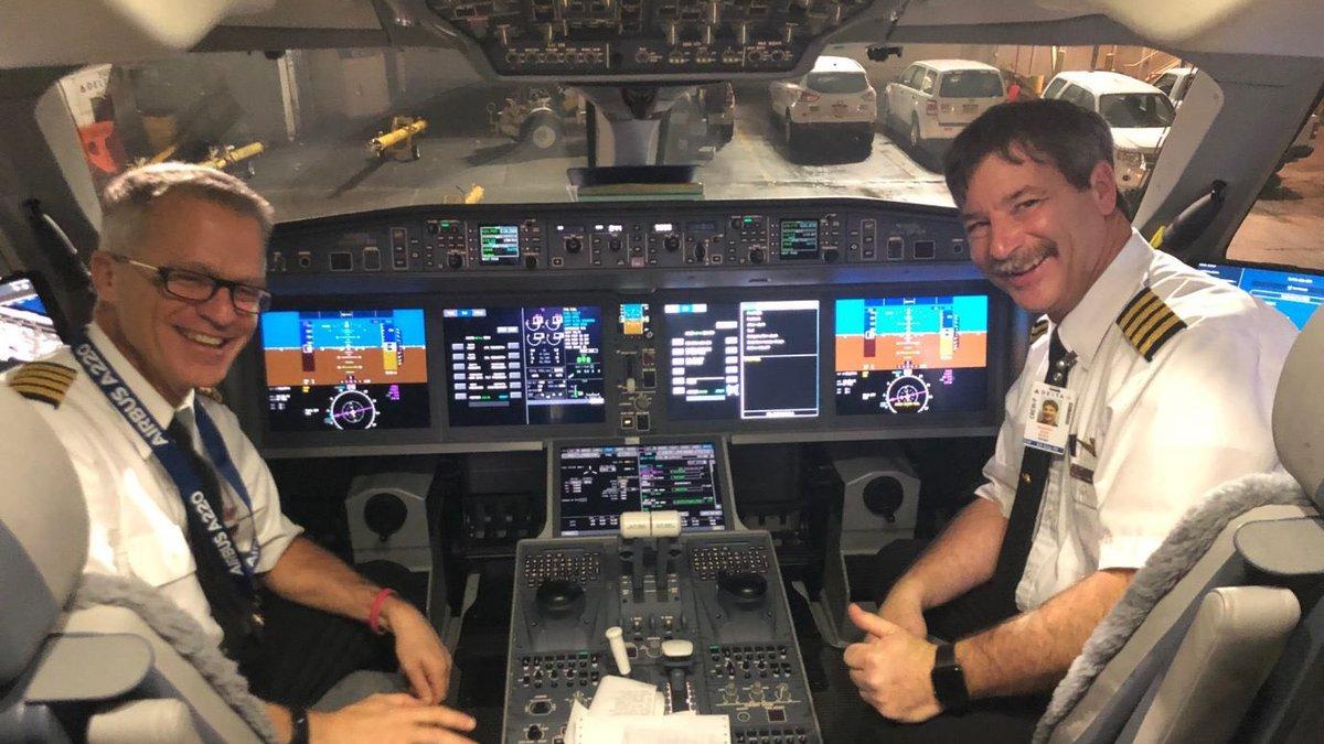 Delta A220 first flight